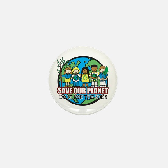 Save Our Planet Mini Button