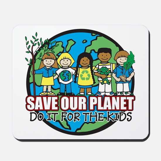 Save Our Planet Mousepad