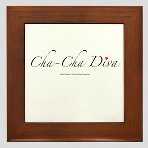 Cha Cha Diva Framed Tile