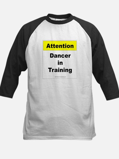 Dancer In Training Kids Baseball Jersey