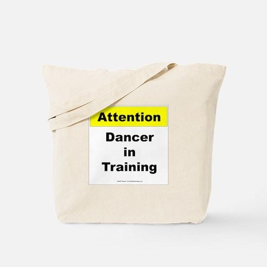 Dancer In Training Tote Bag