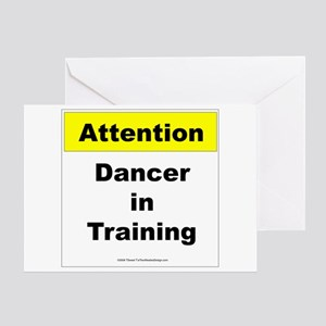 Dancer In Training Greeting Card