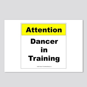Dancer In Training Postcards (Package of 8)