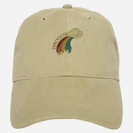 Somewhere Over The Rainbow Baseball Baseball Cap