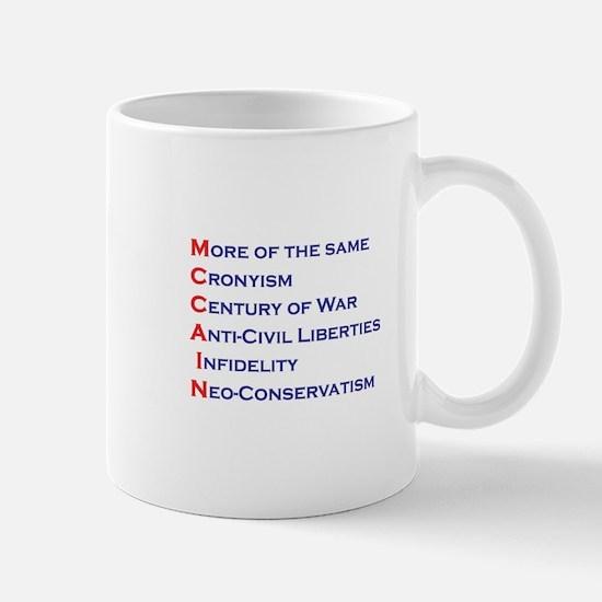 McCain Acrostic Mug