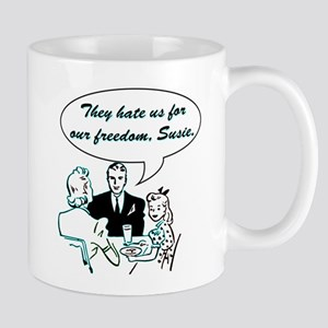 Hate Us Mug