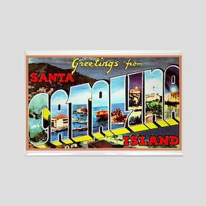 Catalina Island California Greetings Rectangle Mag