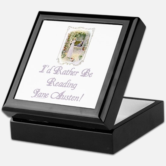 Rather be Reading J.A. Keepsake Box