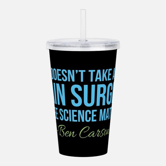Ben Carson Science Mat Acrylic Double-wall Tumbler
