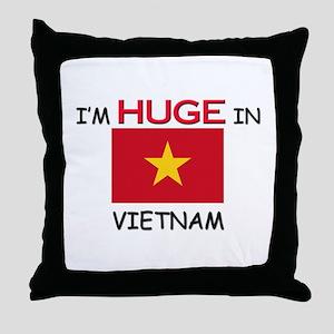 I'd HUGE In VIETNAM Throw Pillow