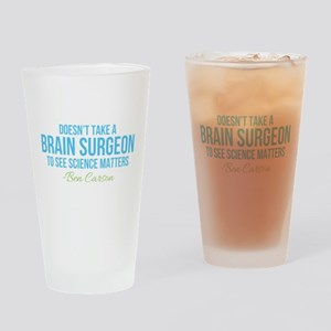 Ben Carson Science Matters Drinking Glass