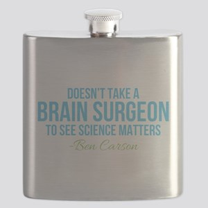 Ben Carson Science Matters Flask