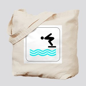 Diving Icon Tote Bag