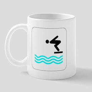 Diving Icon Mug