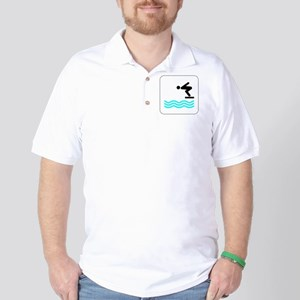 Diving Icon Golf Shirt