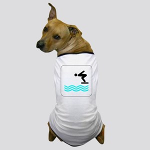 Diving Icon Dog T-Shirt