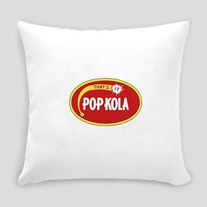 Pop Kola brand logo red Everyday Pillow