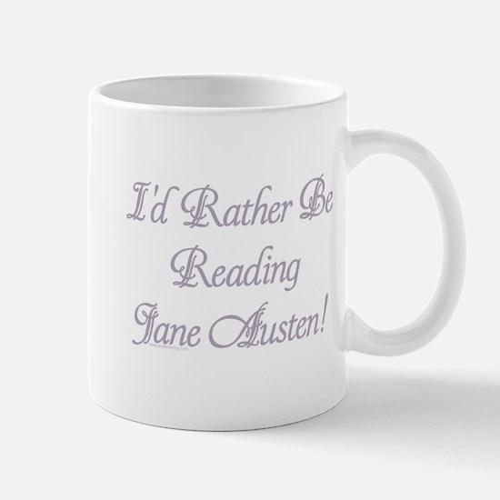 Rather be Reading J.A. Mug