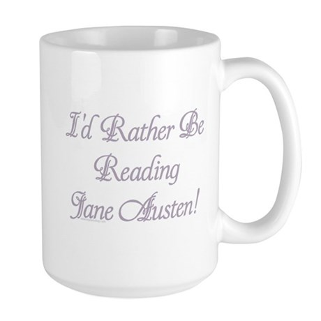 Rather be Reading J.A. Large Mug