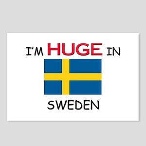 I'd HUGE In SWEDEN Postcards (Package of 8)