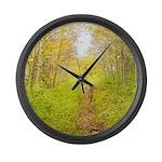 Aspen Trail Deer Large Wall Clock