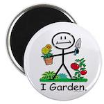 "BusyBodies Gardening 2.25"" Magnet (100 pack)"