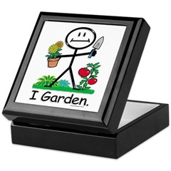 BusyBodies Gardening Keepsake Box