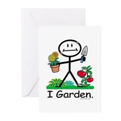 BusyBodies Gardening Greeting Cards (Pk of 10)
