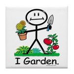BusyBodies Gardening Tile Coaster