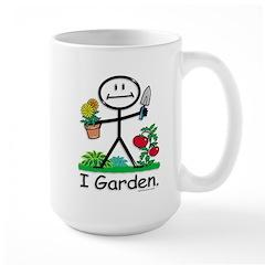 BusyBodies Gardening Large Mug