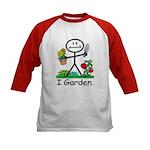 BusyBodies Gardening Kids Baseball Jersey