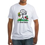 BusyBodies Gardening Fitted T-Shirt