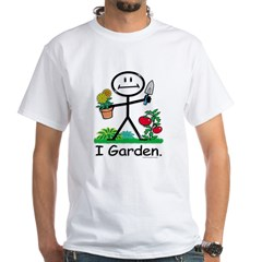 BusyBodies Gardening White T-Shirt