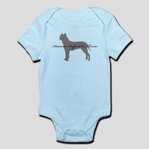 American Staffordshire Terrier Infant Bodysuit