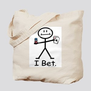 BusyBodies card gambling Tote Bag