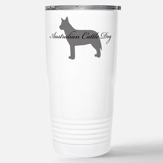 Australian Cattle Dog Stainless Steel Travel Mug