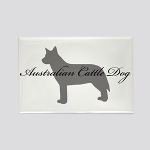 Australian Cattle Dog Rectangle Magnet