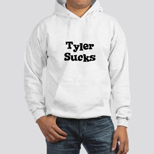 Tyler Sucks Hooded Sweatshirt