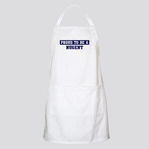 Proud to be Nugent BBQ Apron