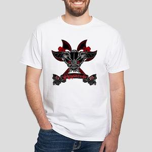 CDC Skull White T-Shirt