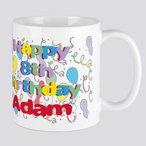 Adam's 8th Birthday Mug