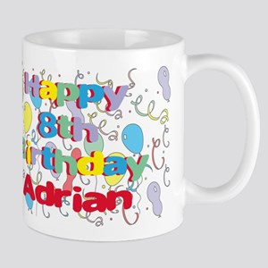 Adrian's 8th Birthday Mug