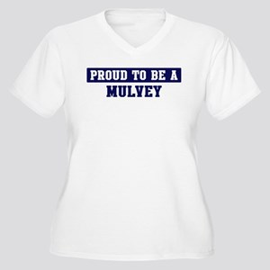 Proud to be Mulvey Women's Plus Size V-Neck T-Shir