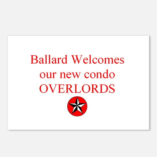 Funny Condo Postcards (Package of 8)