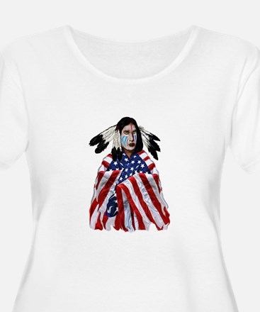 PATRIOTISM Plus Size T-Shirt