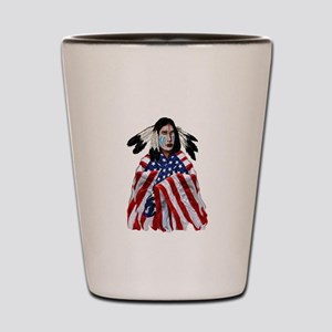 PATRIOTISM Shot Glass