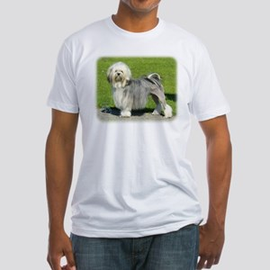 Lhasa Apso 8K61D-18 Fitted T-Shirt