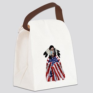 PATRIOTISM Canvas Lunch Bag