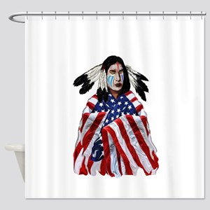 PATRIOTISM Shower Curtain