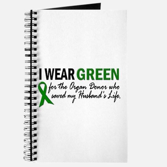 I Wear Green 2 (Husband's Life) Journal